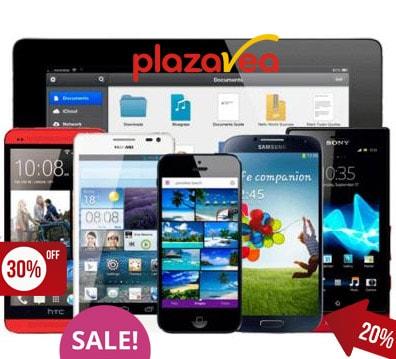 catalogo de celulares y tablet en plaza vea