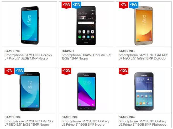 modelos y marcas de celulares en tienda online plazavea