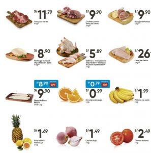 precios alimentos plaza vea