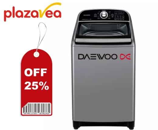 lavadorasDaewoo 25 porciento de descuento