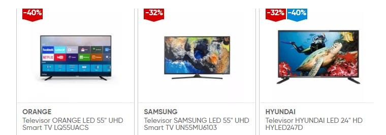 oferta de televisores samsung orange hyundai