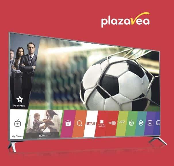 plaza vea televisor
