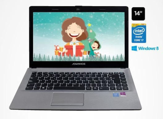 notebook  Advance de 14 pulgadas