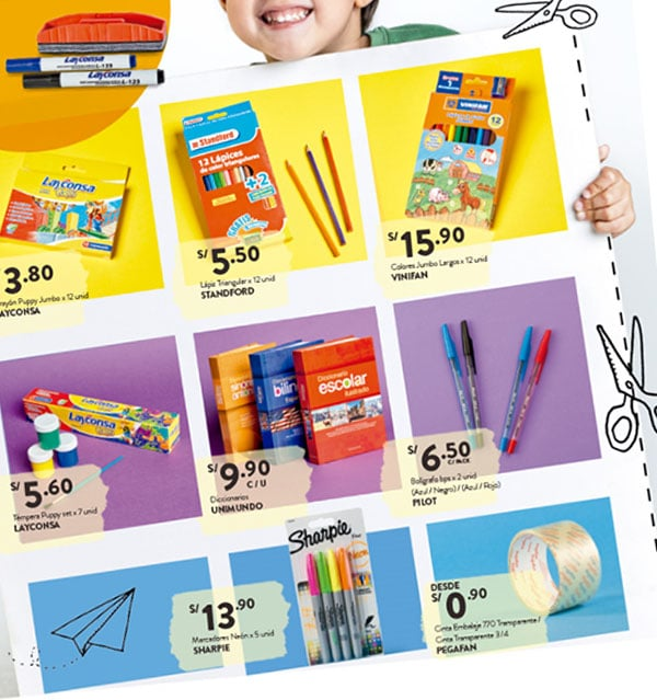 plaza vea catalogo escolar