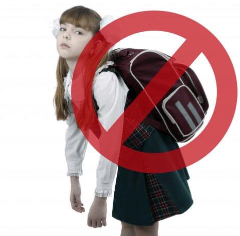 dolor de espalda por mochilas pesadas