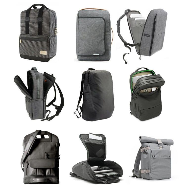 mochilas modernas porta laptop para el colegio