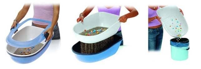 auto limpieza de arenero