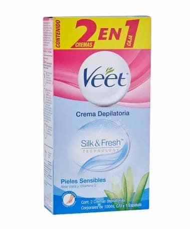 crema depilatoria VEET Piel Sensible plaza vea