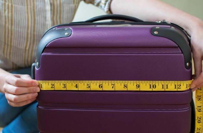 dimensiones de la mejor maleta
