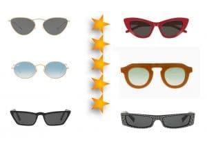lentes de sol de moda para el verano