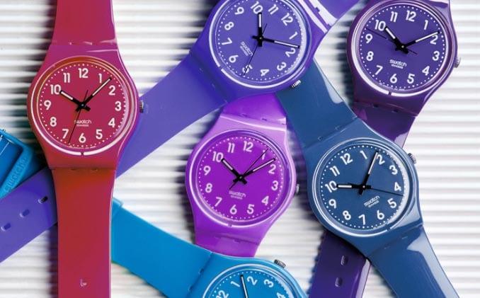 relojes de verano en el catalogo