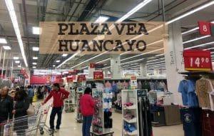 Plaza Vea hiper Huancayo en la DirecciónAv Ferrocarril