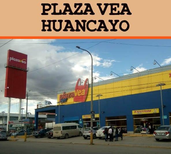 Tienda Plaza Vea Huancayo