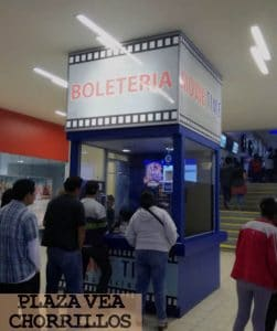 boleteria cine movie time plaza vea chorrillos