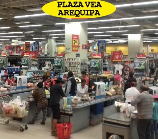 compras en locales plaza vea arequipa La Marina