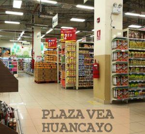 productos en plaza vea huancayo