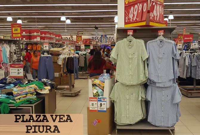ropa en plaza vea piura